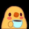 :chick_coffee: